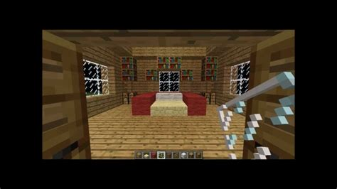 minecraft     kingbed decoration  bedroom
