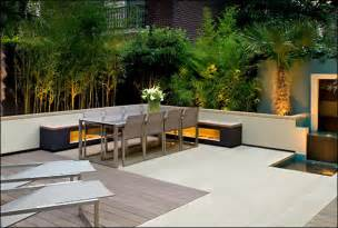 terrasse design cool garden and roof terrace design in contemporary style digsdigs