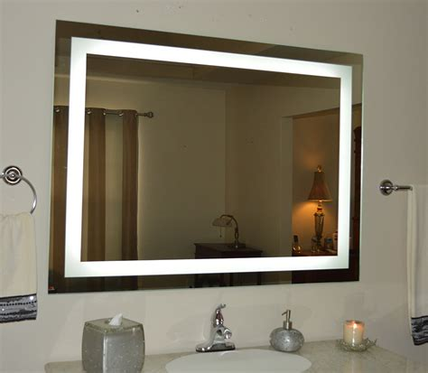 wall light up mirror see the difference with a wall mounted light up mirror