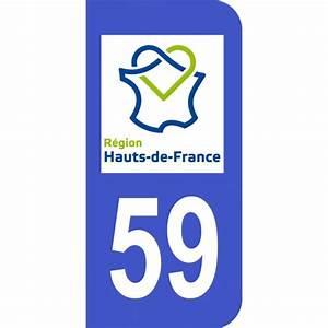 Immatriculation Voiture étrangère En France : autocollant immatriculation 59 hauts de france plaque id ~ Gottalentnigeria.com Avis de Voitures