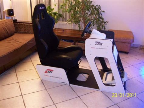 fabriquer siege baquet pcshm playseats cockpits et simulateurs home made