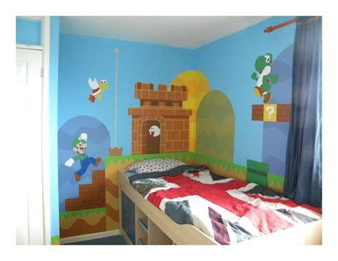Mario Bros Bedroom by Gallery Mural Mario Bros Bedroom