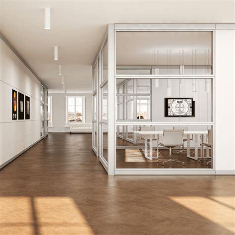 pareti divisorie in vetro per uffici pareti attrezzate e divisorie