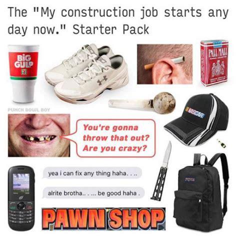 Starter Pack Memes - the starter pack meme will help you change your identity