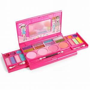 Kids Little Girls Princess Makeup Set Palette With Mirror ...