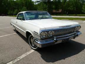 63 Chevy Impala 2 Door Hardtop Sport Coupe 327 4bbl