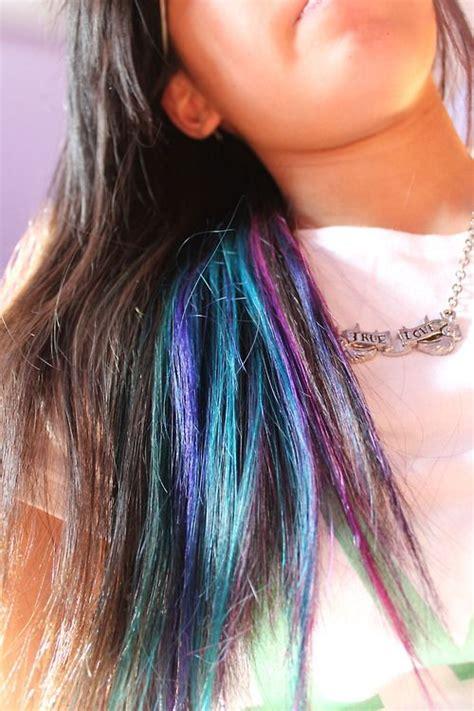 The 25 Best Color Streaks Ideas On Pinterest Temp Hair
