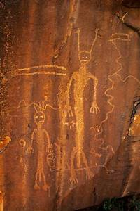 Ancient Aliens - ancient drawings in a cave...aliens ...