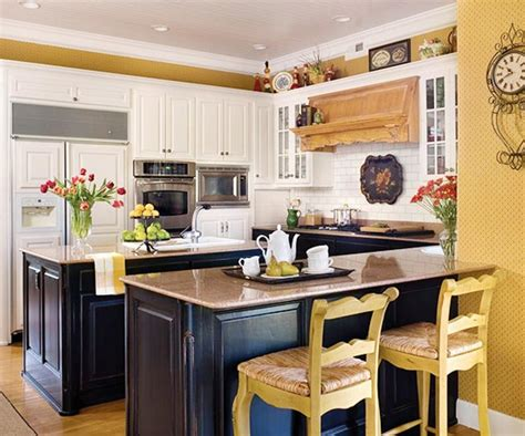 country yellow kitchens 15 charming country kitchen design ideas rilane 2969