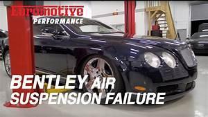 Bentley Air Suspension Failure - Common Problem