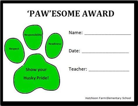pbis pawesome award