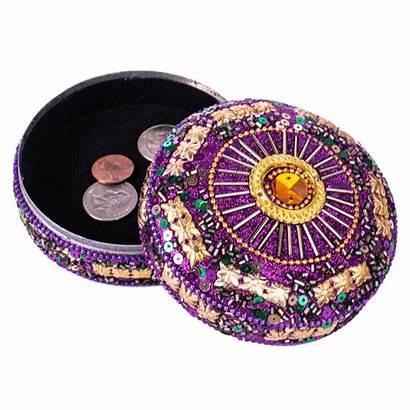 Trinket Box Round Jeweled Sun Boxes Jewelry