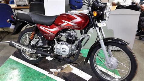 all new 2016 bajaj ct 100b snapped at a dealership in mangalore