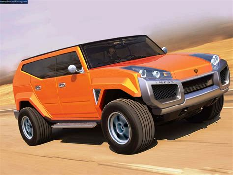 lamborghini pickup truck lamborghini truck lamborghini lm003 concept cars