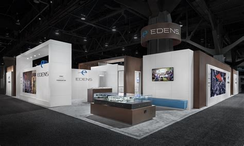 expo moderne edens 2014 recon trade show booth graphis