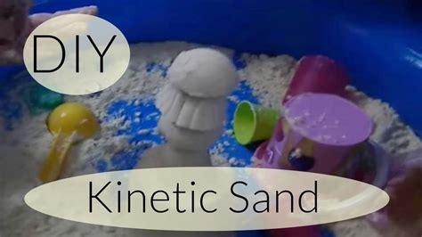 sand selber machen diy moon sand kinetic sand zaubersand selber machen