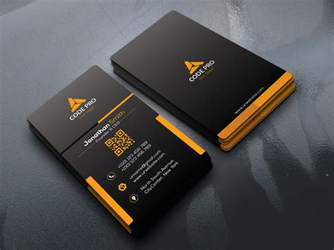 design double sided business card   identity