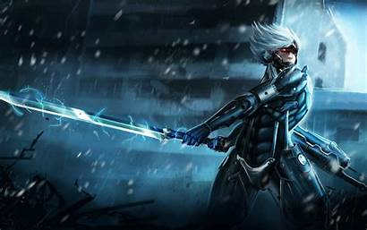 Gear Metal Solid Raiden Rising Revengeance Wallpapers