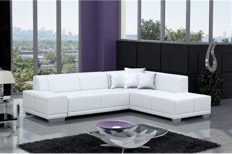canape blanc design canapé d 39 angle moderne william noir blanc noir ivoire