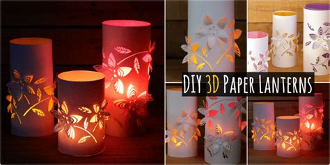 creative diy    colorful  paper lanterns