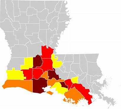 Louisiana French Parishes Svg Speaking Cajun Population