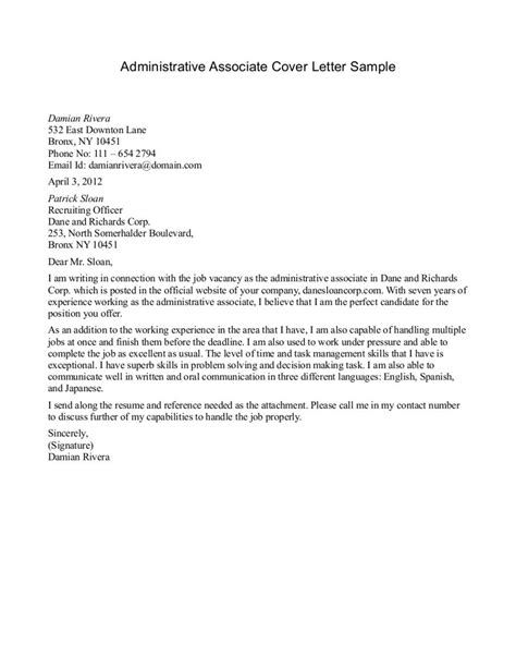 Sle Application Cover Letter Cover Letter For The Post Of Area Sales Manager