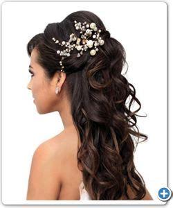 style hair 17 beste idee 235 n bruidsmeisje lang haar op 8932