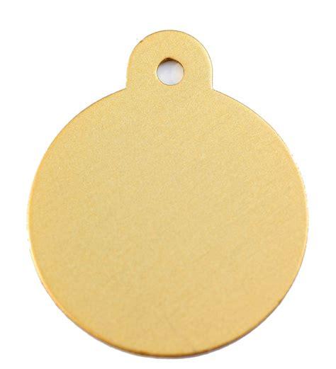 Gold Dog ID Tags