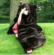 Antique Bear Attack Sleeping Bag Pict Grizzly Bear Sleeping Bag Funny Bizarre Amazing Pictures Videos