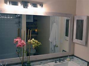 how to replace a bathroom light fixture how tos diy With how to install a bathroom mirror