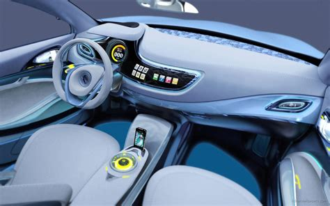 renault concept interior renault fluence ze concept interior wallpaper hd car