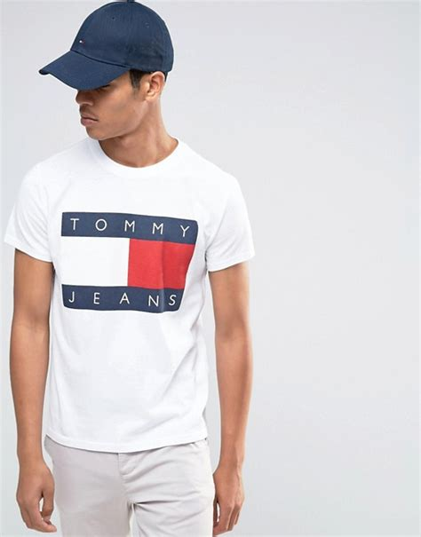 selected homme t shirt 90s t shirt in white