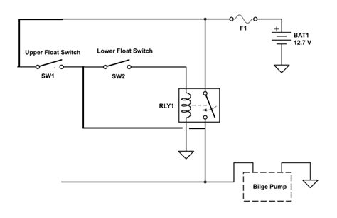 Bilge Pump Float Switch Wiring Diagram The Only Way