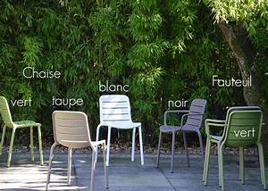 Chaise De Jardin Verte : chaise de jardin color e et de qualit en polypropyl ne ~ Teatrodelosmanantiales.com Idées de Décoration