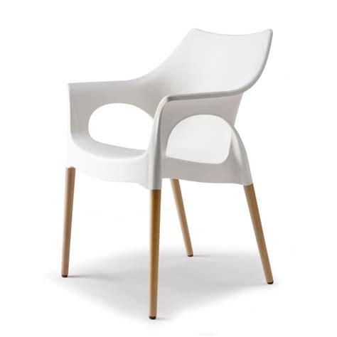 chaise blanche pied bois chaise design blanche pied bois images