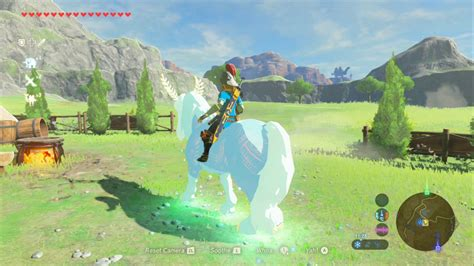 zelda botw breath wild legend iwata mountain lord horse deer spirit riding dragon usgamer