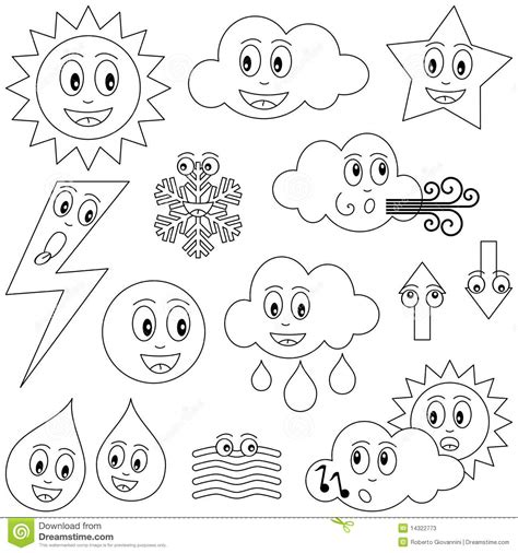 Coloring Weather by Weather Coloring Pages Preschool Coloring Home