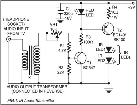 Amplifier Use Audio Tranformers Amplification