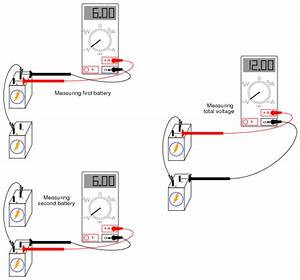 series batteries dc circuits electronics textbook With measure current for each of the three resistors comparing with the