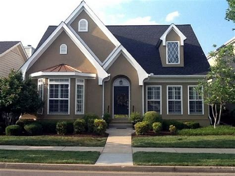 Creativity By Exterior House Paint Color Combinations