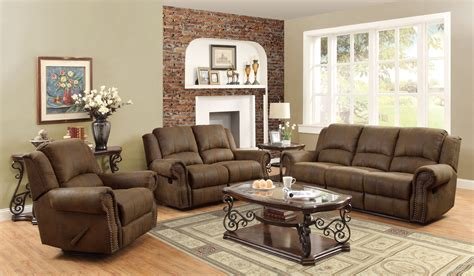 Sir Rawlinson Brown Reclining Living Room Set From Coaster