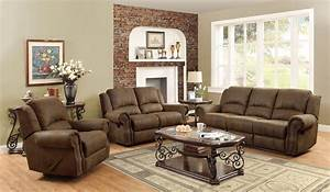 sir rawlinson brown reclining living room set from coaster With coaster furniture living room sets