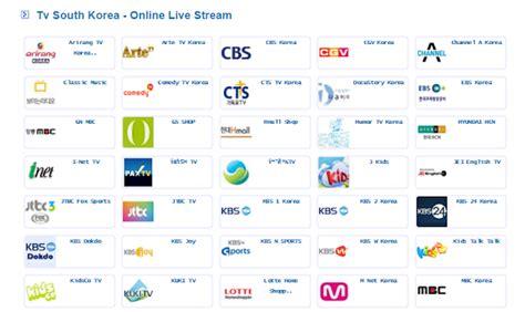 Cara Nonton Siaran Tv Korea Dengan Live Streaming
