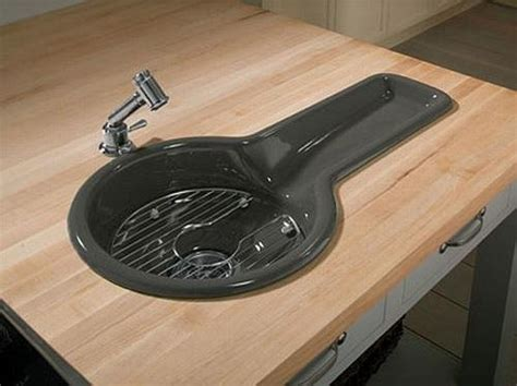small black kitchen sink 22 unique kitchen sinks personalizing modern kitchen 5355