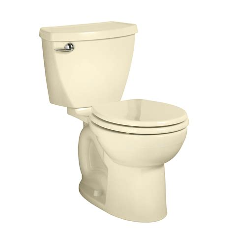 standard toilet height shop american standard cadet 3 bone round standard height 2 piece toilet 12 in rough in size at
