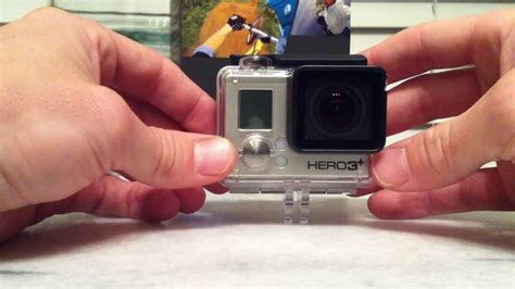 How To Open Gopro Hero+ Back Door ... Hero Plus Water