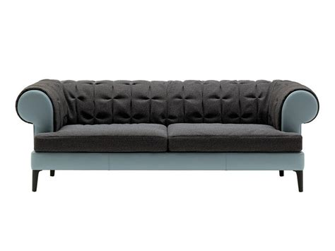 Manto' Fabric Sofa By Poltrona Frau