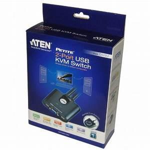 Zwei Monitore Verbinden : kvm switch cs22u usb verbinden sie 2 pc s mit einem ~ Jslefanu.com Haus und Dekorationen