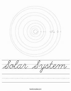 About the Solar System Worksheets - Pics about space
