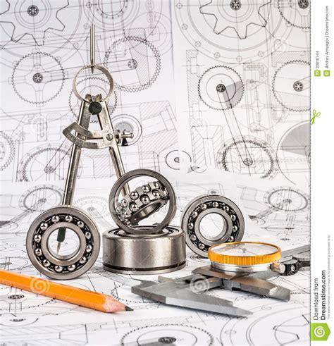 roulement a bille dimension roulements 224 billes sur le dessin technique photo stock image du dimensions affaires 33815744